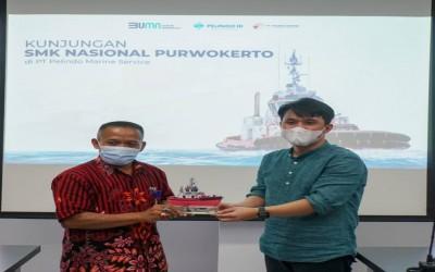 KUNJUNGAN SMK-SPM NASIONAL PURWOKERTO KE PT. PELINDO MARINE SERVICE